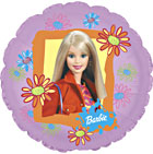 "30"" Jumbo Barbie Mylar Balloon"