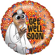 "21"" Google Eyes Get Well Soon"