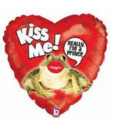 "21"" Smooch Frog Really A Price Kiss Me"