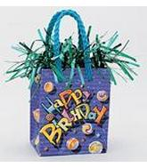 5.5OZ Birthday Marbles Balloon Bag Weight