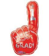 34&#39&#39 Grad #1 Red Hand Shape