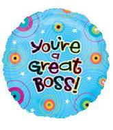 "18"" You&#39re A Great Boss Dots"