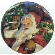 "4"" Airfill Jolly Old St Nick"
