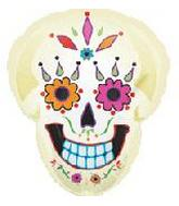 22&#39&#39 Day of the Dead Skull Balloon