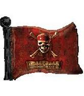 30&#39&#39 Pirates of the Caribbean Flag Shape Balloon