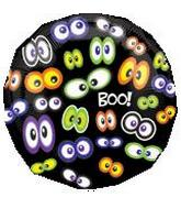 18&#39&#39 Glowing Eyeballs Boo Balloon