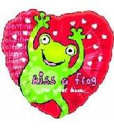 "18"" Kiss A Frog Valentine"