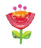 "33"" Happy Mother&#39s Day Flower Shape"
