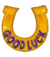 "38"" Shape Goodluck Horseshoe Balloon"