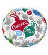 "18"" Celebrate the Season Ornaments"