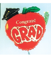 Congrats Apple Grad balloon