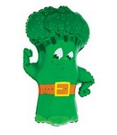 "34"" Super Shape Broccoli Balloon"