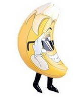 "33"" Mylar Shape Banana Fruit Balloon"
