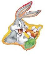 "34"" Bugs Bunny Holding Carrot"
