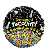 "18"" Demand A Recount Candles"
