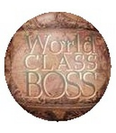 "18"" World Class Boss Balloon"