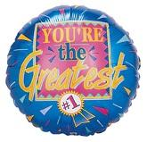 "18"" You&#39re The Greatest Mylar Balloon"