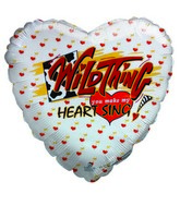 "9"" WildThing You make My Heart Sing Airfill Balloon"
