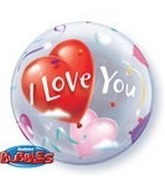 "22"" Love You Bubble Balloon"
