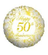 "18"" Happy 50th Anniversary"