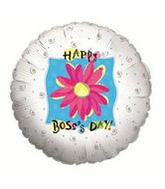 "18"" Flowers & Swirls Boss&#39s Day"