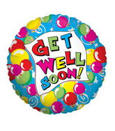 "18"" Get Well Balloons Balloon"