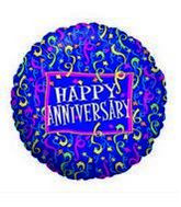 "18"" Anniversary Party Mylar Balloon"