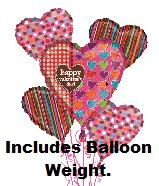 Happy Valentine&#39s Day Polka Dots Bouquet
