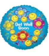 "18"" Get Well Smiling Flowers"