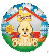 "18"" I&#39m Sorry Sad Puppy Dog House"