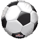 "18"" Soccer Ball Mylar Balloon"