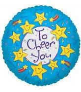 "4"" Airfill To Cheer You Smiley Stars"