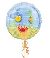 "18"" Decorate Balloon Sea Critters (Stickers not included)"