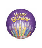 "18"" Birthday Big Candles Balloon"