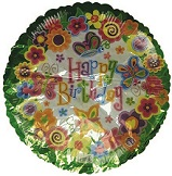 "18"" Butterfly Birthday"