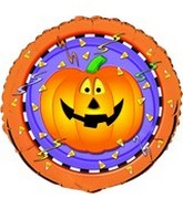 "18"" Halloween Fun Jack o Lantern Balloon"