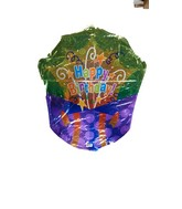 "28"" Happy Birthday Bursting Gift Shape Jumbo Balloon"
