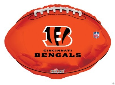 "18"" NFL Football Cincinnati Bengals Balloon"