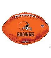 "18"" NFL Football Cleveland Browns Balloon"
