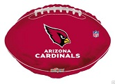 "18"" NFL Football Arizona Cardinals Balloon"