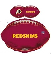 "18"" NFL Football Washington Redskins Balloon"