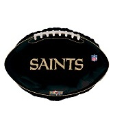 "18"" NFL Football New Orleans Saints Balloon"