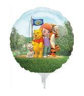 "9"" Mini Balloon (Airfill Only) Pooh Friends"