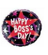 "18"" Boss&#39s Day Stars and Swirls"