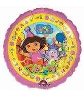 "18"" Dora the Explorer Una Fiesta Party Foil Balloon"