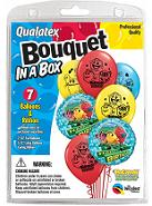 7 Balloons Pacman Bouquet