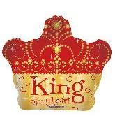 "22"" King Of My Heart Crown"