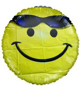"18"" Little Friend Kit Smiley with glasses balloon"