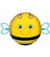 "18"" Little Friend Kit Cute Bee Round Balloon"