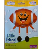 "18"" Little Friend Kit Football Happy Face Balloon"